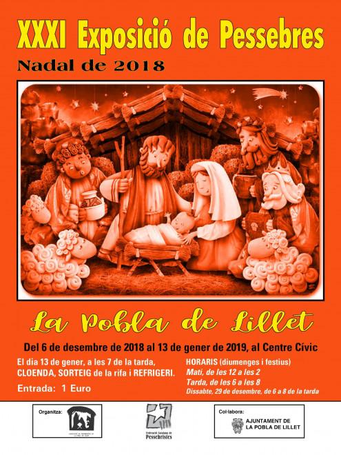 XXXI Exposició de Pessebres @ Centre Cívic de LA POBLA DE LILLET