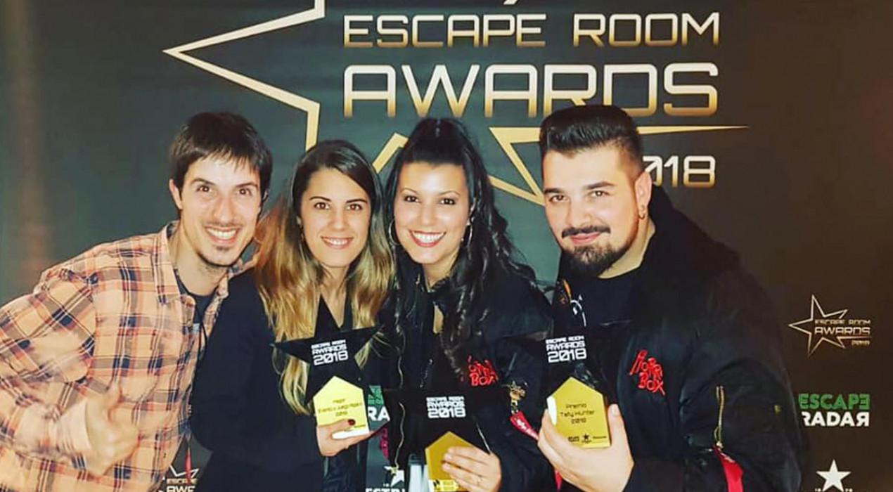 Un passatge d'Horrorland rep el premi al 'Millor esdeveniment del 2018′ als Escape Room Awards