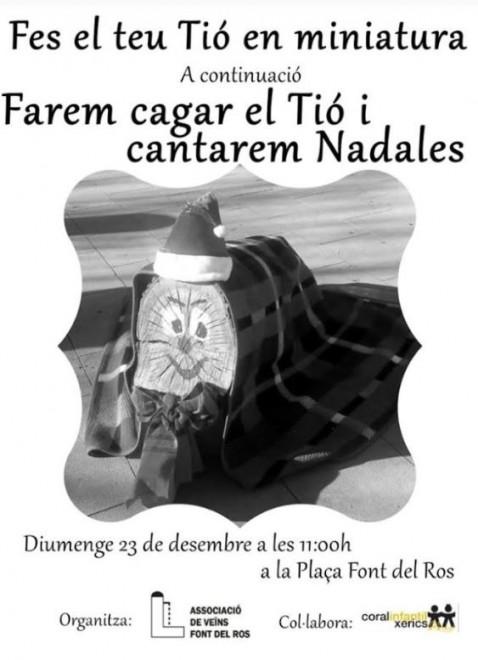 Festa de Nadal a la Font del Ros @ Plaça de la Font del Ros (BERGA)