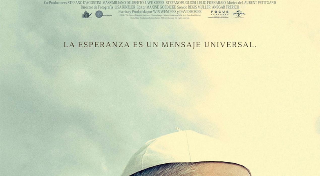 Cinema a Berga: EL PAPA FRANCISCO, UN HOMBRE DE PALABRA