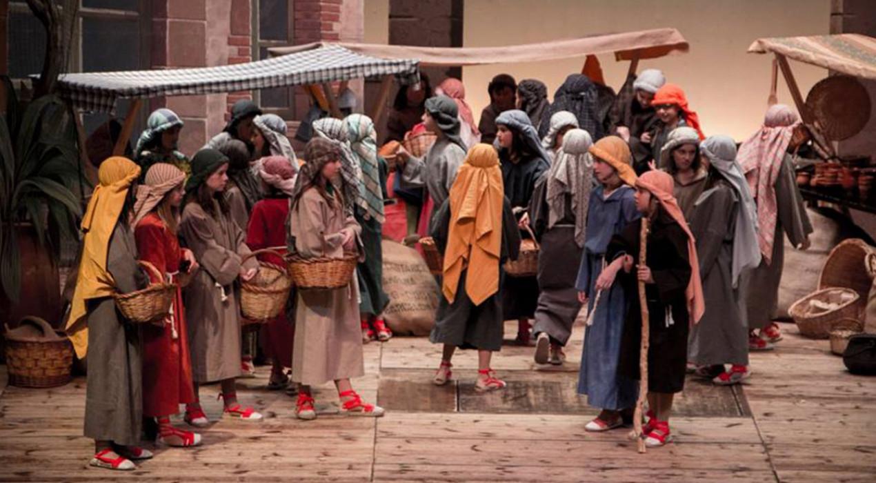 Més d'un centenar de nens protagonitzen aquest cap de setmana els pastorets infantils de Berga