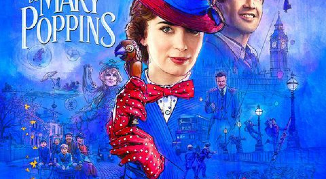 Cinema a Berga: EL REGRESO DE MARY POPPINS