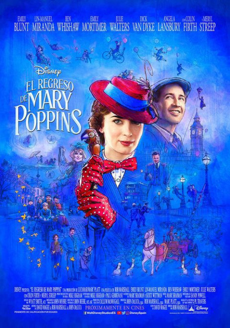 Cinema a Berga: EL REGRESO DE MARY POPPINS @ Teatre Patronat de Berga