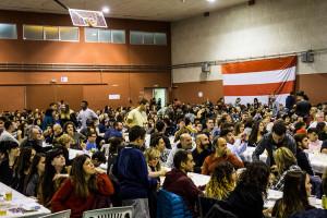 La primera Quina Berguedana supera de llarg les expectatives i desborda el pavelló vell amb més de 700 assistents