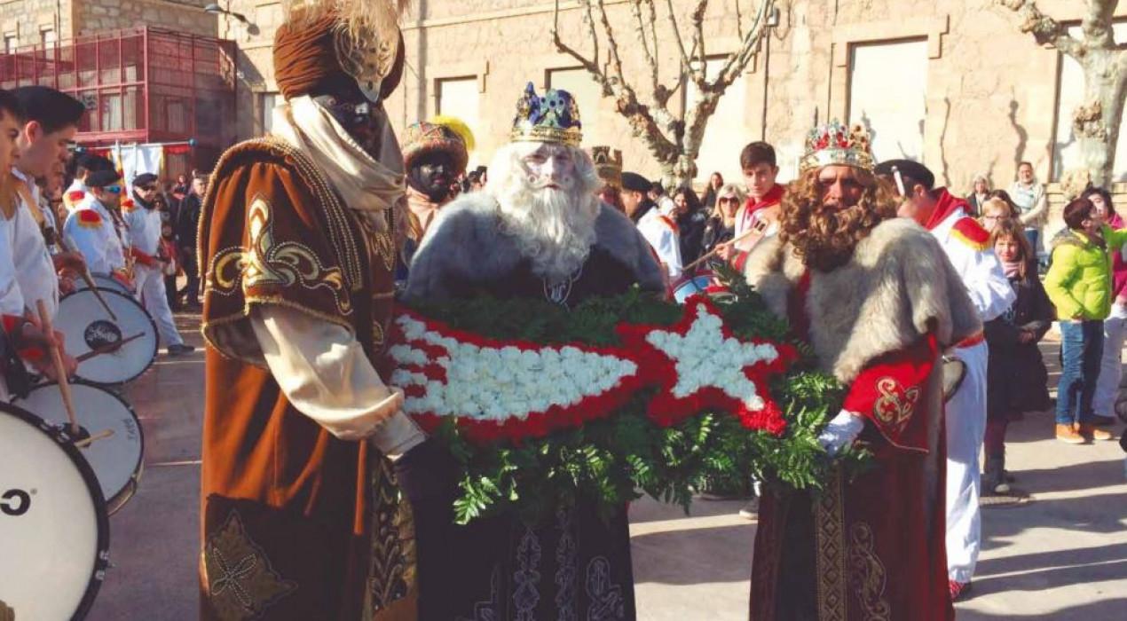Recollida de carbó de Ses Majestats els Reis d'Orient