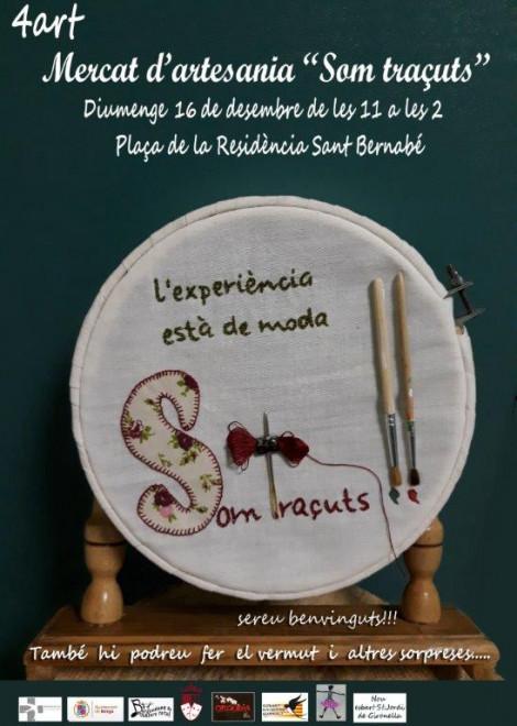 4t Mercat d'artesania SOM TRAÇUTS @ Plaça de la Residència Sant Bernabé (BERGA)