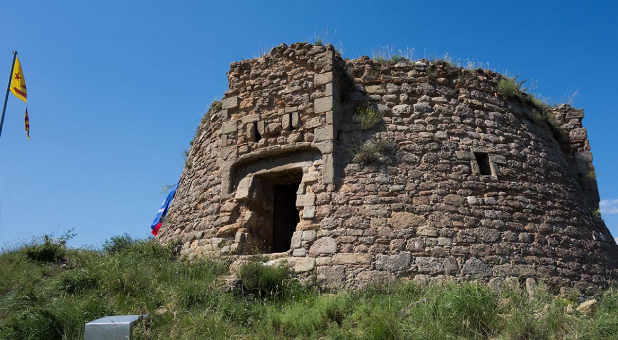 Berga treu a concurs les obres per refer la Torre de la Petita i convertir-la en un edifici visitable