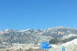 El segon dia de nevades al Berguedà, en imatges