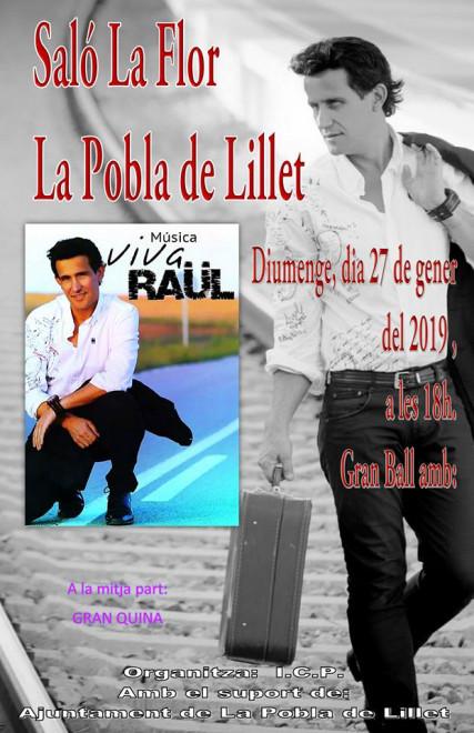BALL a La Pobla de Lillet: Raül @ Saló La Flor (LA POBLA DE LILLET)