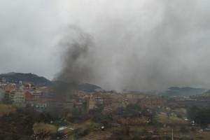 Una falsa alarma mobilitza serveis d'emergències i veïns de Berga al carrer Mestre Ribera