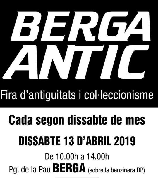 Berga Antic · abril 2019 @ Pg. de la Pau (BERGA)