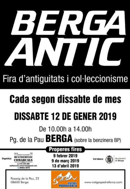 Berga Antic · gener 2019 @ Pg. de la Pau (BERGA)