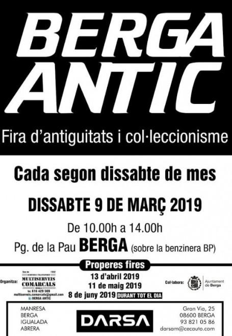 Berga Antic · març 2019 @ Pg. de la Pau (BERGA)