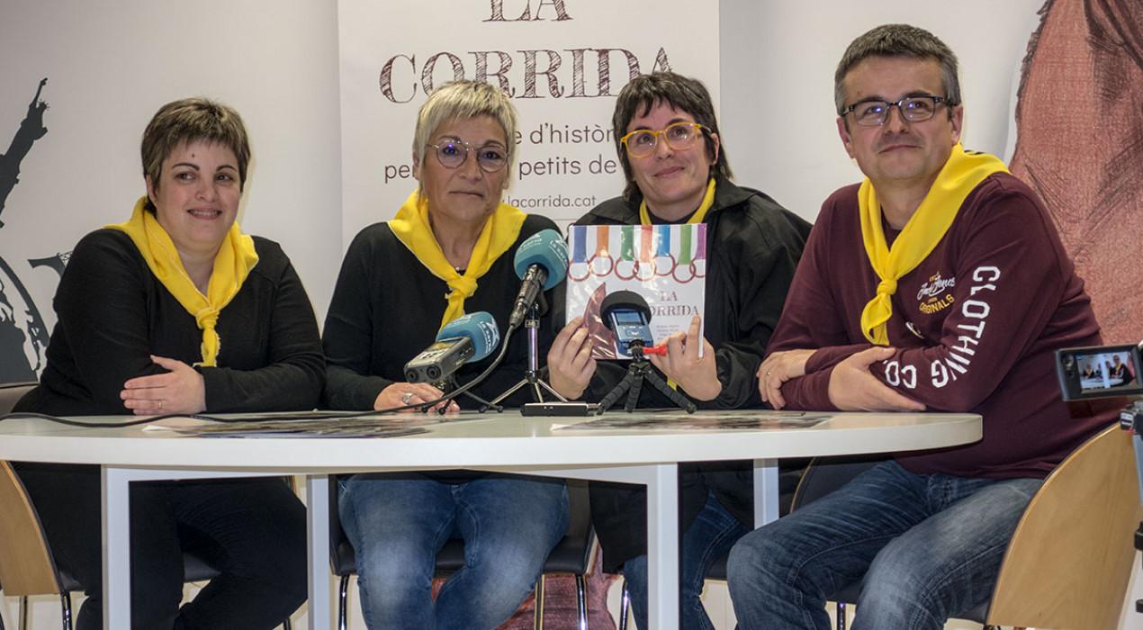 Tres mestres de Puig-reig escriuen el primer conte infantil de La Corrida
