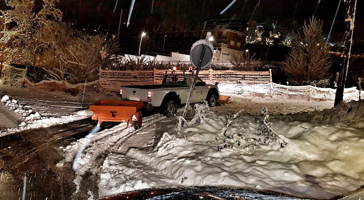 L'Ajuntament de Berga no habilita punts de potassa per assegurar que l'estesa de sal sigui moderada