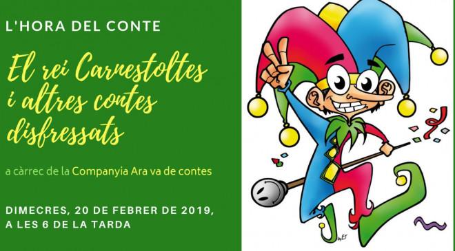 Hora del Conte: El Rei Carnestoltes i altres contes disfressats @ Biblioteca Ramon Vinyes i Cluet (BERGA)