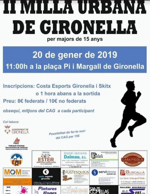 II Milla urbana de Gironella @ Plaça Pi i Maragall (GIRONELLA)