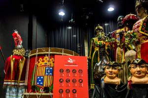 Les comparses de la Patum s'exhibiran al convent de Sant Francesc a partir de divendres vinent
