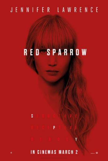 3r Cicle de cinema de l'EOI: Red Sparrow @ Teatre Patronat de Berga