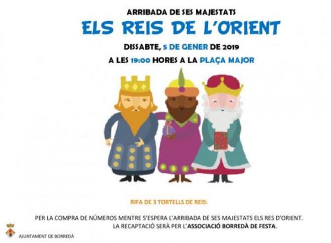 Cavalcada de Reis a BORREDÀ 2019 @ Borredà