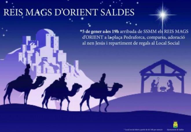 Cavalcada de Reis a SALDES 2019 @ Saldes