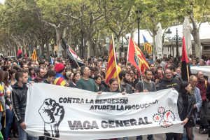 Quines convocatòries hi ha per la vaga general d'aquest dijous al Berguedà?