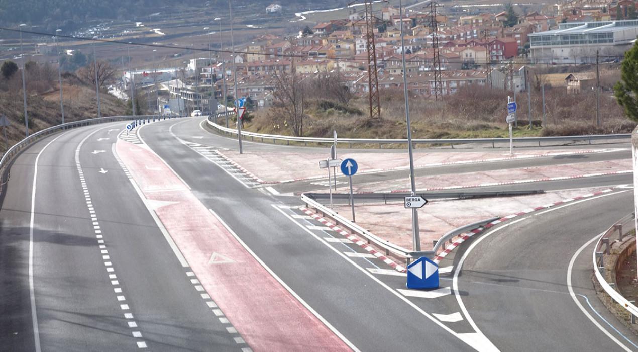 L'Ajuntament de Berga, en bloc, insisteix en soterrar la C-16 al seu pas per la zona de l'institut