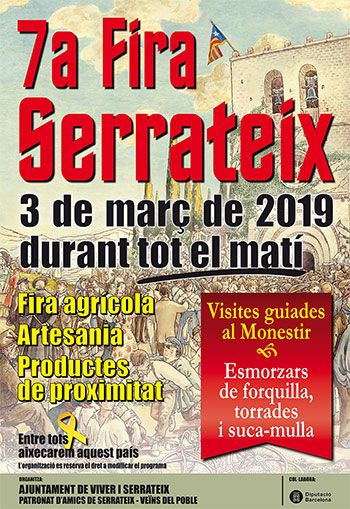 7a Fira de Serrateix @ Plaça del Monestir de Serrateix