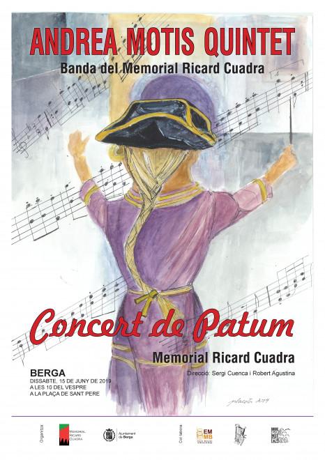 Concert de Patum Memorial Ricard Cuadra 2019 @ Plaça Sant Pere (BERGA)