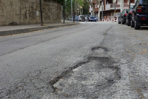 Berga completarà el projecte d'asfaltatge de carrers entre aquesta setmana i la vinent