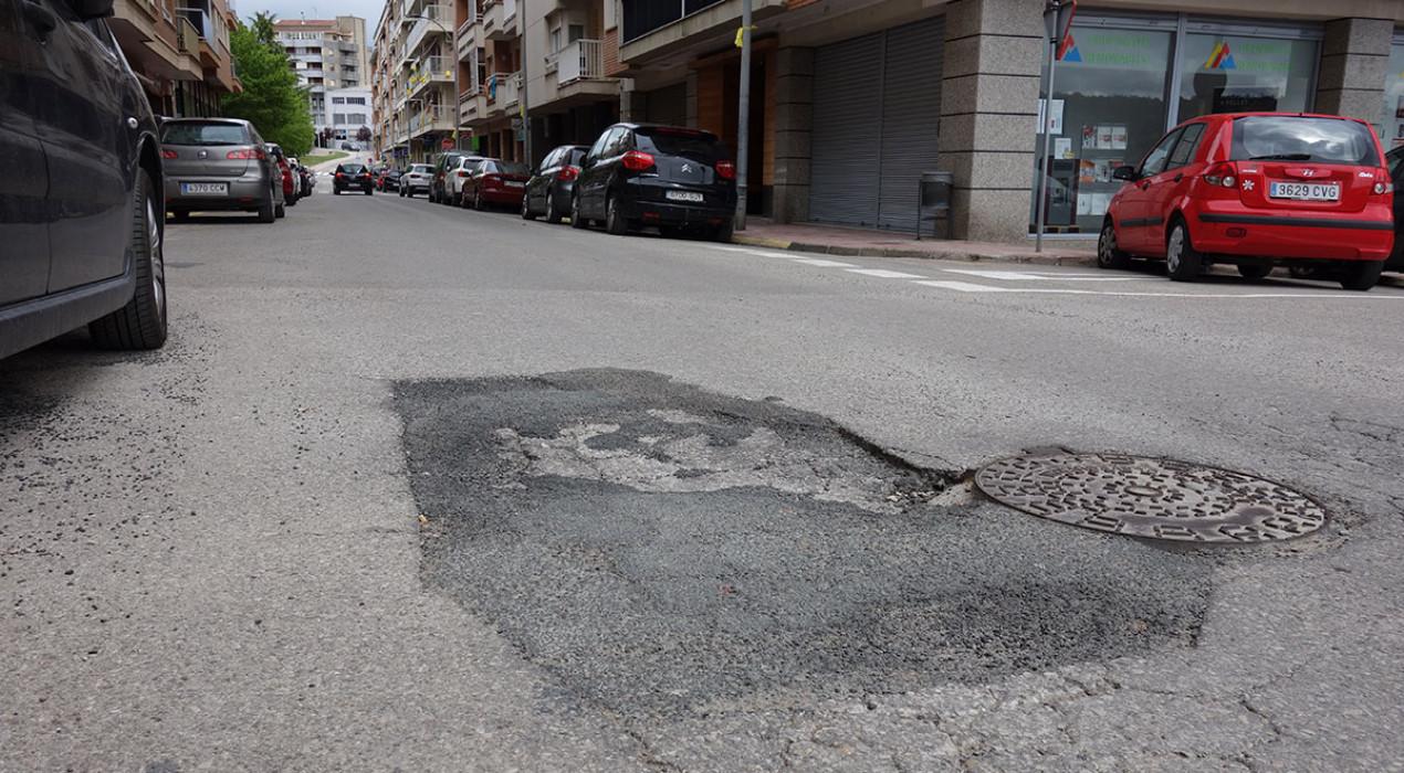 350.000 euros per acabar amb els forats d'una vintena de carrers de Berga