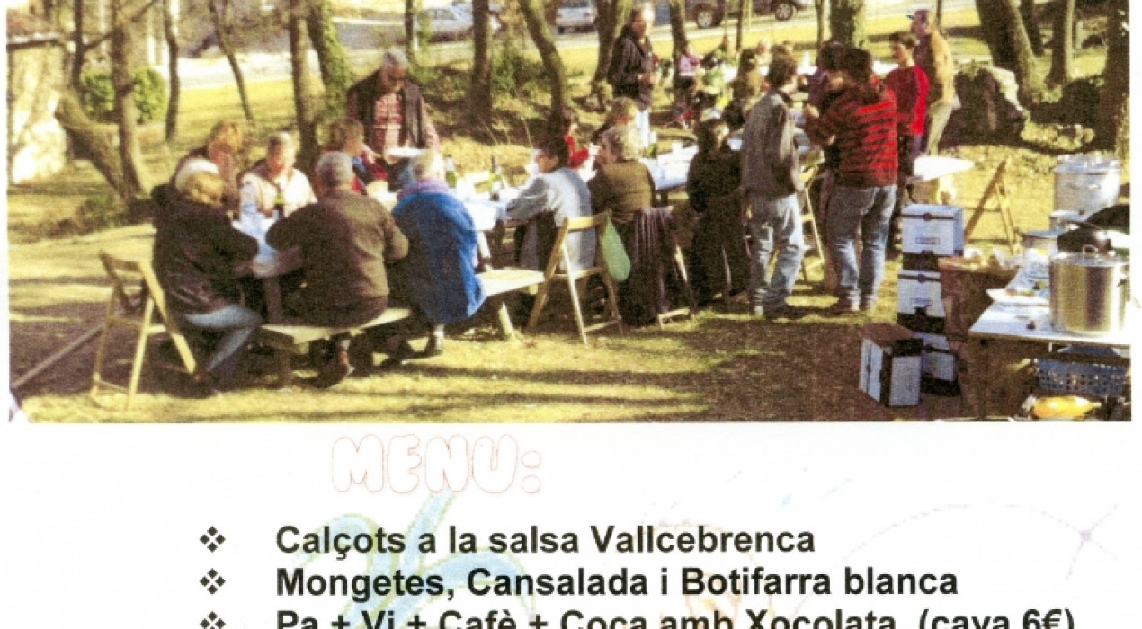 CALÇOTADA POPULAR DE VALLCEBRE 2019