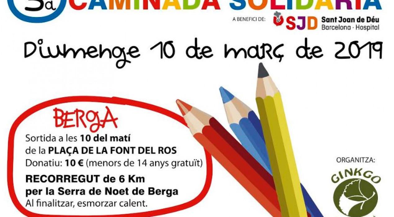 3a caminada solidària 'Pas a Pas'