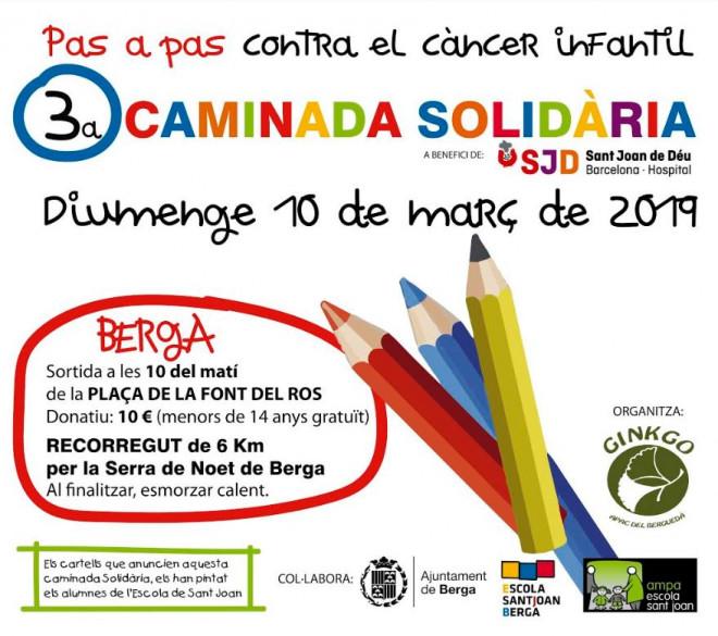 3a caminada solidària 'Pas a Pas' @ Plaça Font del Ros (BERGA)