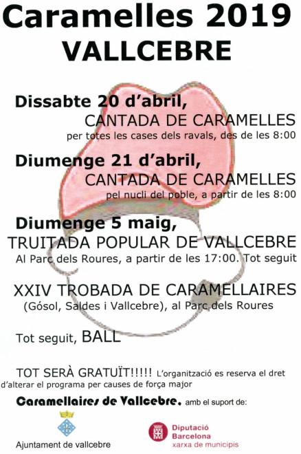 CARAMELLES DE VALLCEBRE 2019 @ Vallcebre