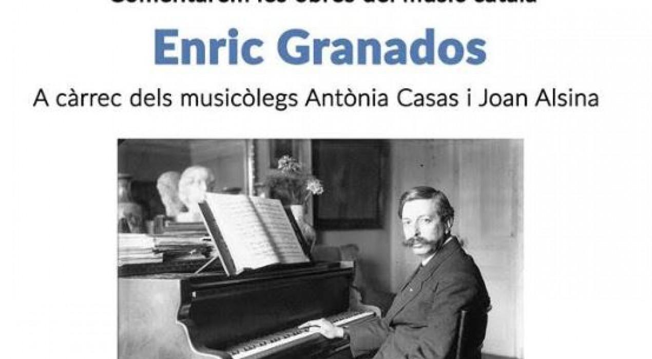 Club de música: ENRIC GRANADOS