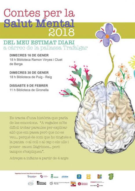Contes per a la salut mental @ Biblioteca de Gironella
