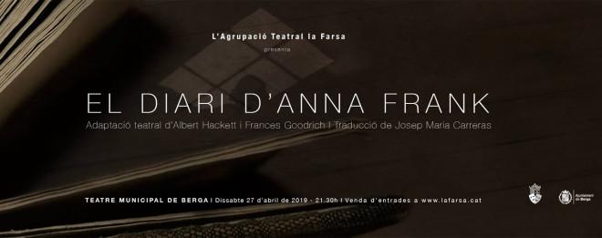 TEATRE 'El Diari d'Anna Frank' @ Teatre Municipal de Berga