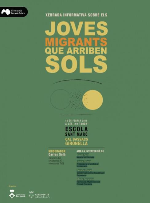 XERRADA - INFORMATIVA: joves migrants que arriben sols @ Escola Sant Marc (CAL BASSACS - GIRONELLA)