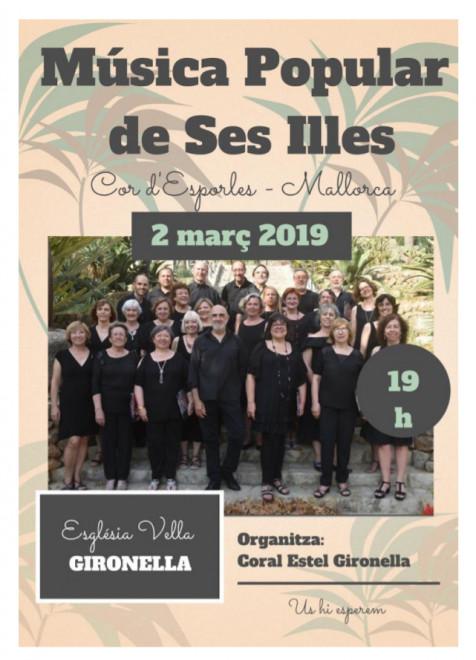 Música Popular de Ses Illes @ Església Vella de GIRONELLA