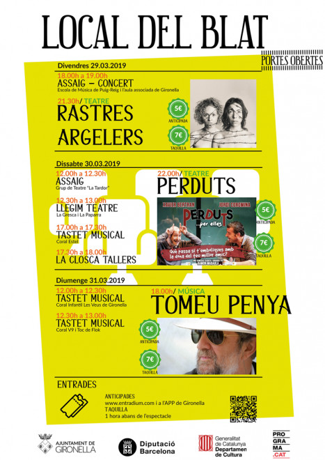 Tastets musicals @ Local del Blat (GIRONELLA)