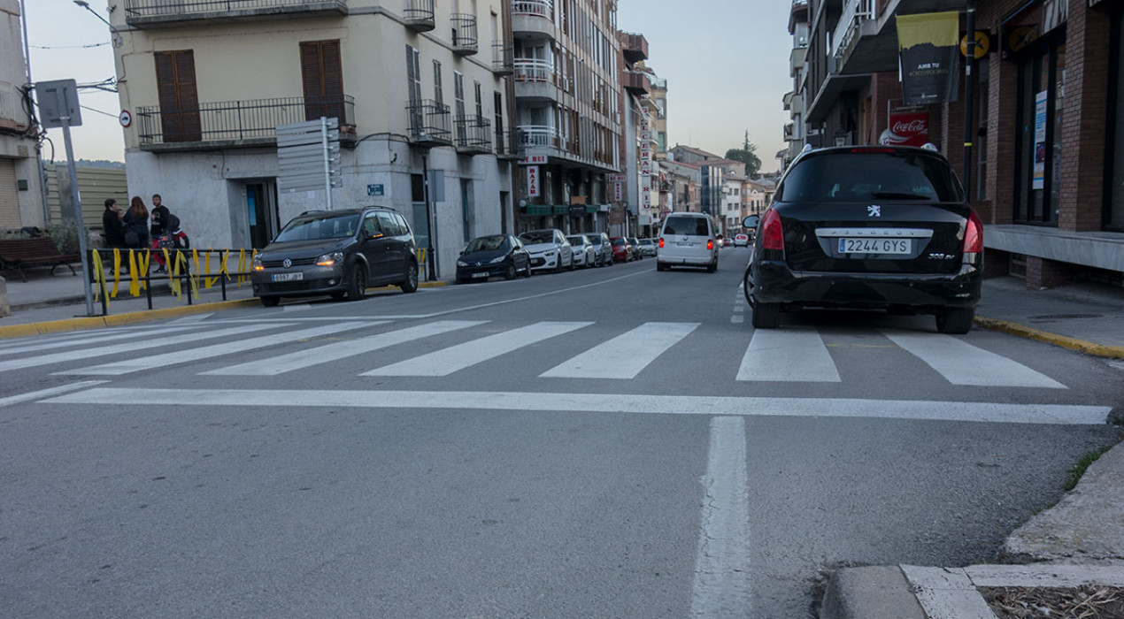 Puig-reig construirà passos elevats a l'avinguda principal del poble