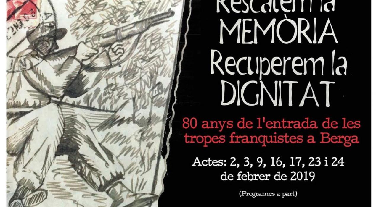Conferència RESCATEM LA MEMÒRIA I RECUPEREM LA DIGNITAT