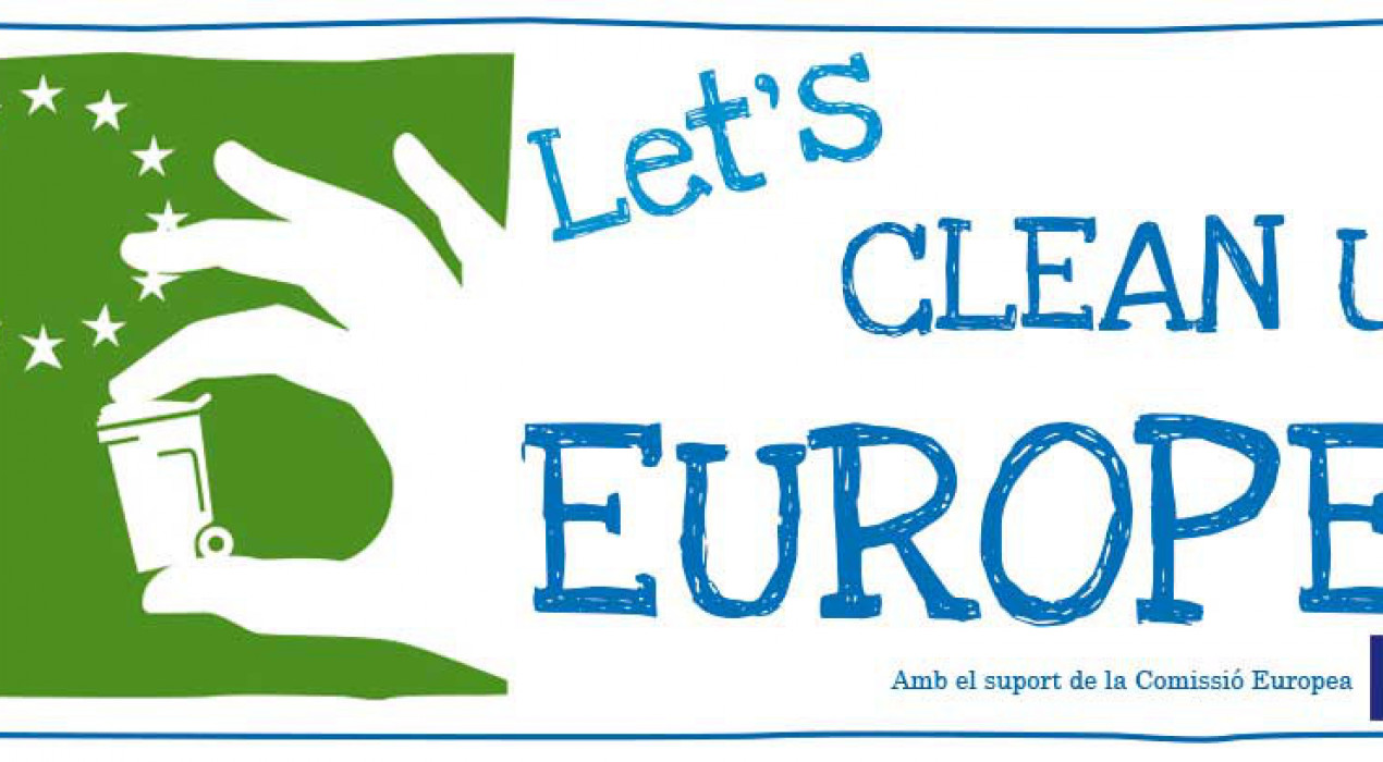 JORNADA DE NETEJA: Let's Clean Up Europe