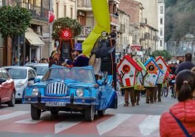 Les fotos de la rua del Carnestoltes de Gironella 2019