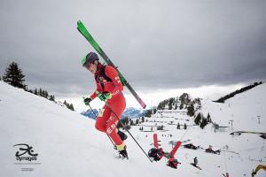 El berguedà Ot Ferrer, subcampió del món d'esquí de muntanya en modalitat esprint