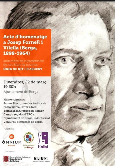 Acte d'homenatge a Josep Fornell i Vilella @ Ajuntament de Berga