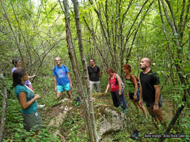 SORTIDA TERAPÈUTICA: bany de bosc @ Centre del Parc Natural del Cadí-Moixeró (BAGÀ)
