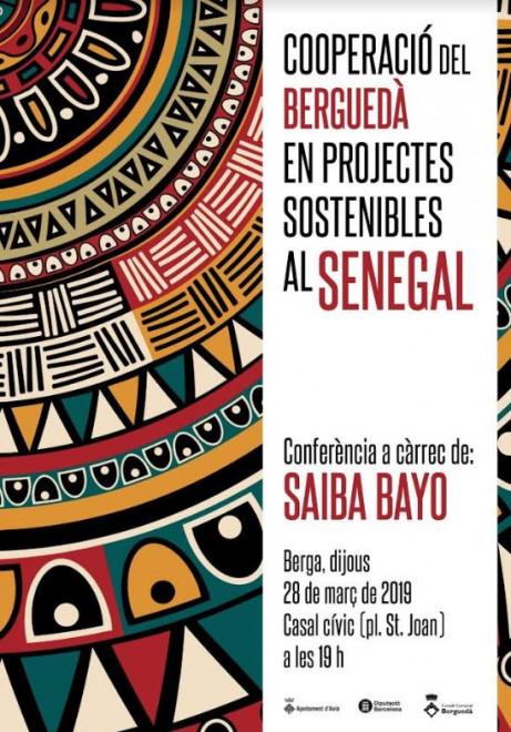 Conferència: cooperació del Berguedà en projectes sostenibles al Senegal @ Casal Cívic (Plaça Sant Joan - BERGA)