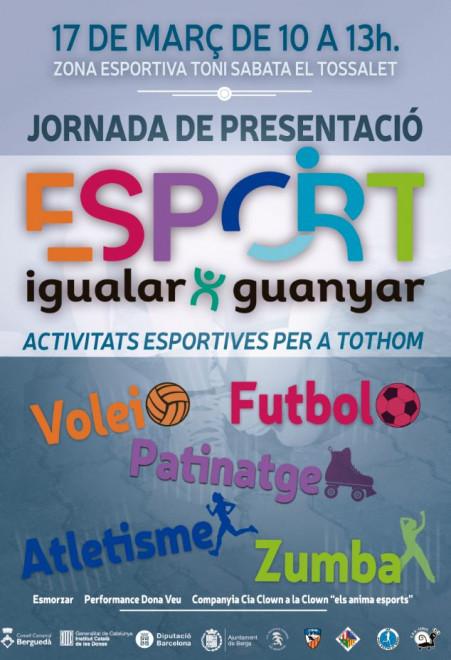 Jornada esportiva en clau de gènere @ Zona Esportiva Toni Sabata El Tossalet (BERGA)